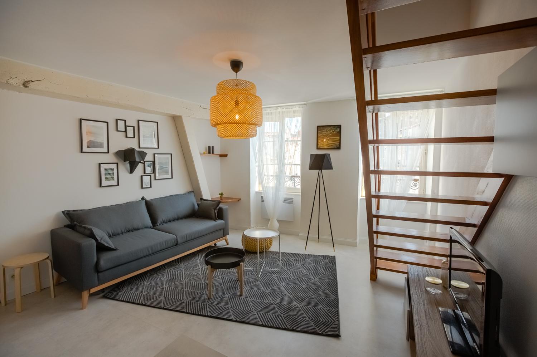 Architecte Interieur La Rochelle appartement la rochelle - réalisations - pignol peinture